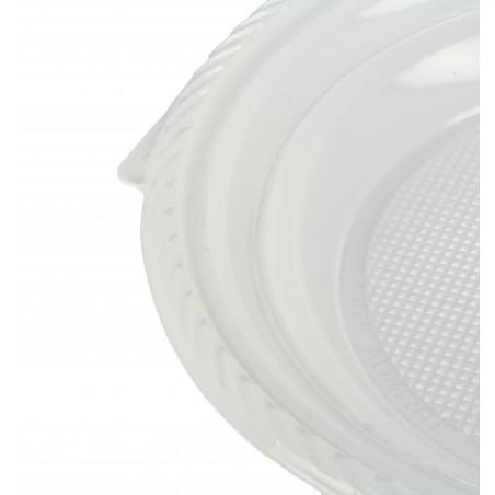 Plastikteller flach weiß 205mm (1.400 Einh.)
