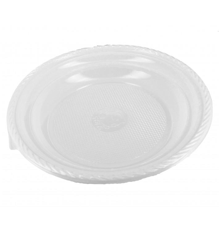 Plastikteller Tief weiß 205mm (1.400 Stück)