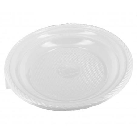 Plastikteller Tiefe weiß 205mm (1.400 Einh.)