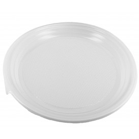 Plastikteller flach weiß 220mm (1.400 Stück)