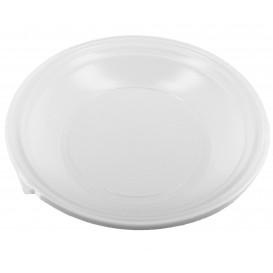 Plastikteller Tief weiß 220mm (100 Stück)