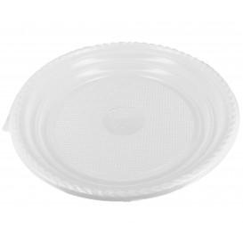 Plastikteller flach weiß 205mm (1.400 Stück)