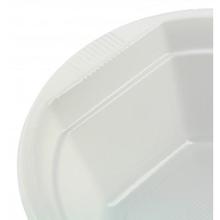 Weiße Plastikschale 250ml (1.000 Einheiten)