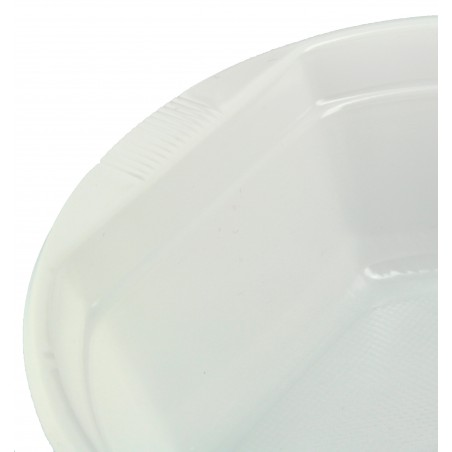 Plastikschale weiß 500ml (800 Einheiten)