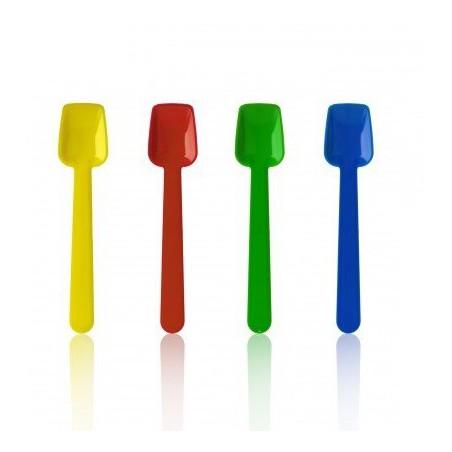 Kleiner Plastikeisspaten flach 90mm (10.000 Einh.)