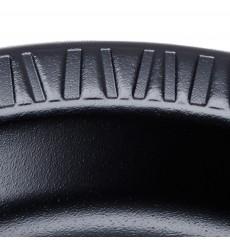 Termische Teller FOAM Schwarz 180 mm (125 Einh.)