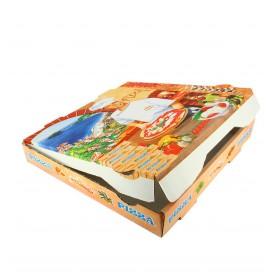 """Pizzakartons 36x36x4cm """"Vegetal"""" (100 Stück)"""