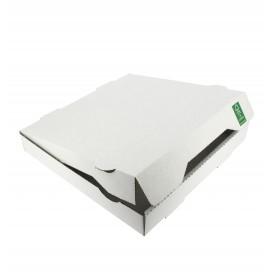 Pizzakartons 24x24x4,2 cm weiß (100 Stück)