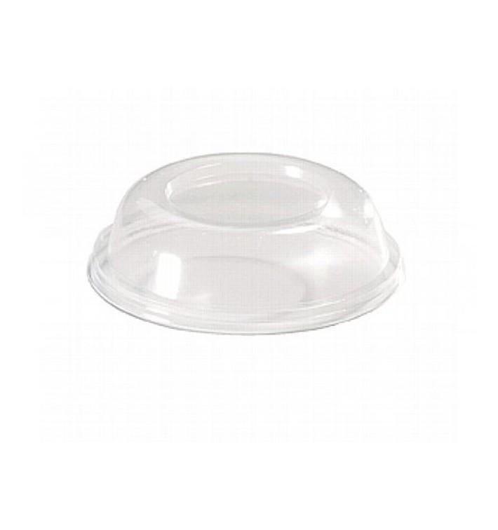 Dom-Deckel geschlossen für Plastikglas 260ml (20 Stück)