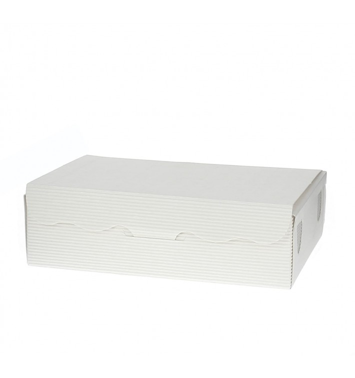 Box für Süßwaren weiß 11x6,5x2,5cm (5 Stück)