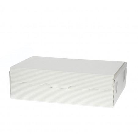 Box für Süßwaren und Konfekt weiß 11x6,5x2,5cm (5 Einh.)