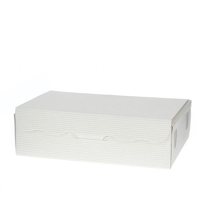 Box für Süßwaren weiß 20x13x5,5cm (5 Stück)