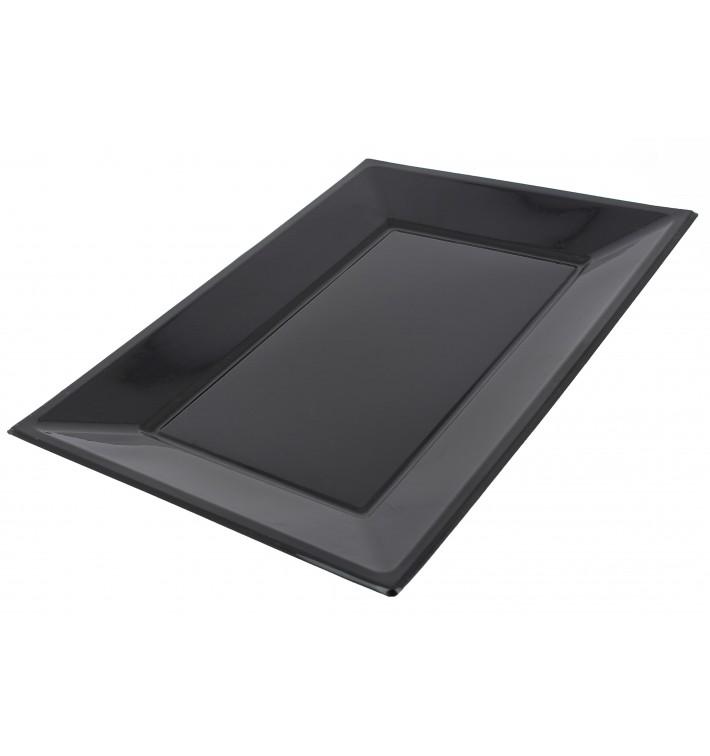 Plastiktablett schwarz 330x225mm (180 Stück)