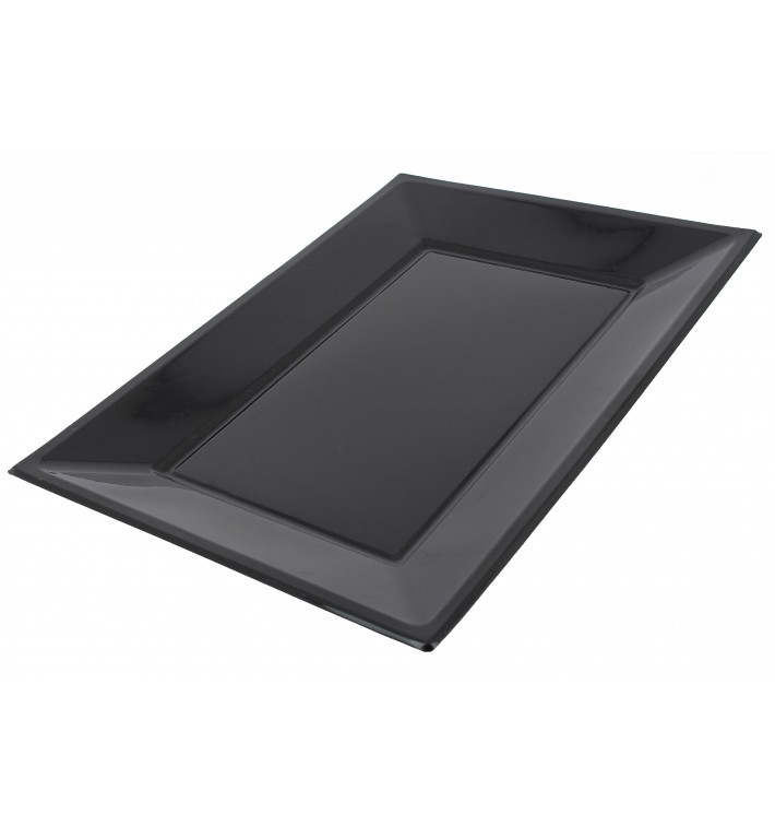 Plastiktablett schwarz 330x225mm (90 Stück)