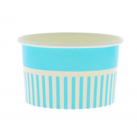 Pappbecher für Eis blau 12oz/360ml (1.000 Einh.)