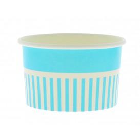 Pappbecher für Eis blau 12oz/360ml (50 Stück)