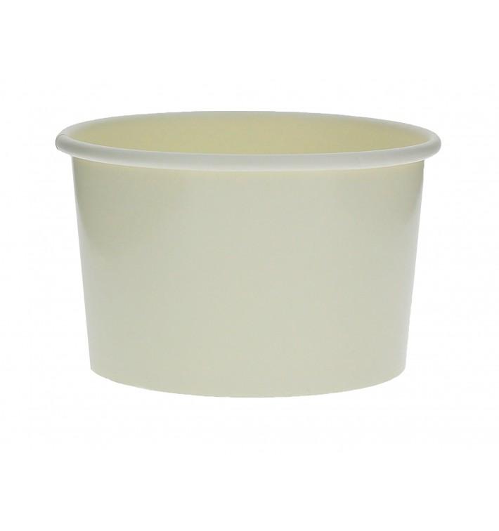 Pappbecher für Eis weiß 6oz/180ml (1.000 Stück)