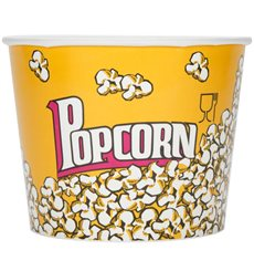 Popcorn box 5400ml 22.5x16x21cm (150 Einh.)