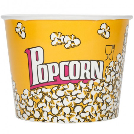 Popcorn box 3900ml 18,1x14,2x19,4cm (25 Einh.)