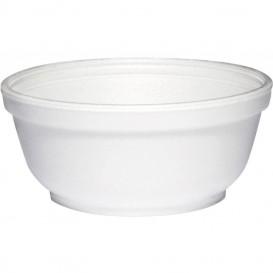 Styroporschale weiß 10OZ/300 ml Ø11cm (1000 Stück)
