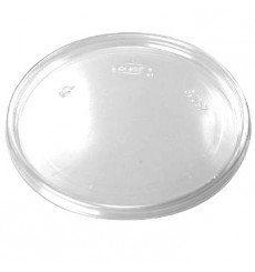 Deckel Transparent Hoch Plastik 105mm (100 Einh.)