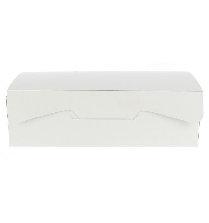 Gebäck Box weiß 20,4x15,8x6cm (200 Stück)