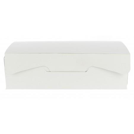 Gebäck-karton weiß 25,8x18,9x8cm (20 Einh.)