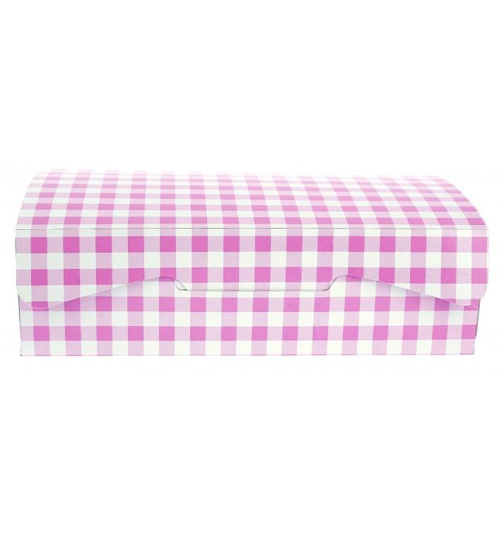 Gebäck Box pink 20,4x15,8x6cm (20 Stück)