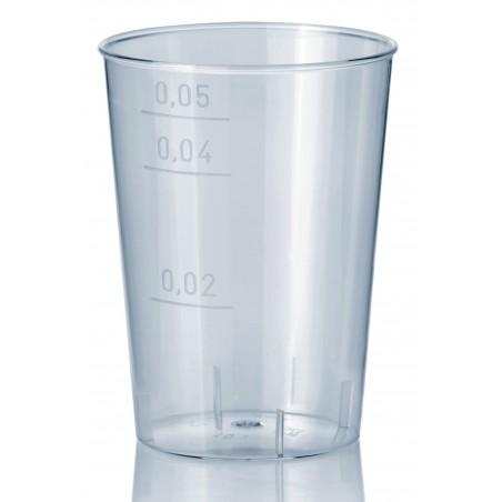 Vaso Inyectado  Transparente PS 100 ml  (Paquete 40 unidades)