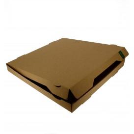 Pizzakartons 40x40x4,2cm Kraft (100 Stück)