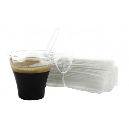 Paletina ENFUNDADA Cafe105mm Transp. (Paquete 50Uds)