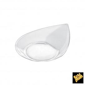 """Plastikteller """"Smart"""" Transparent 8,6x7,1 cm (500 Stück)"""