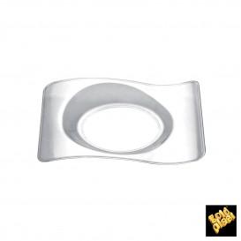 "Plastikteller ""Forma"" Transparent 8,0x6,6 cm (500 Stück)"
