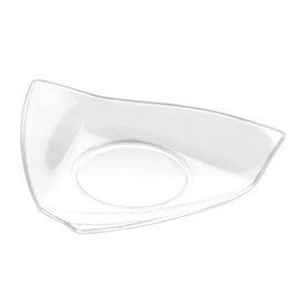 """Plastikteller """"Vela"""" Transparent 8,5x8,5 cm (500 Stück)"""