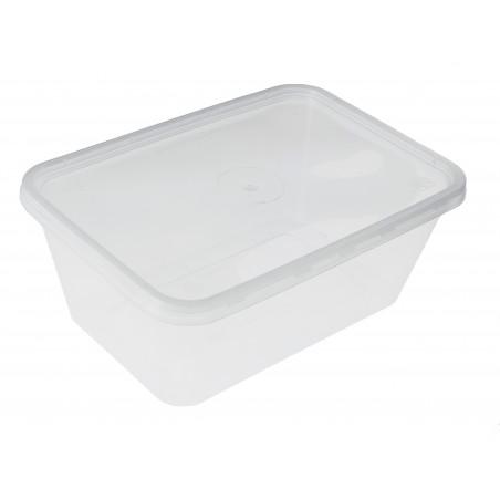 Plastikdose rechteckig PP 1.000ml (500 Einh.)