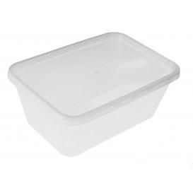 Plastikdose rechteckig PP 1.000ml (50 Stück)