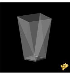 "Plastikbecher ""Diamond"" Transparent 100 ml (500 Stück)"