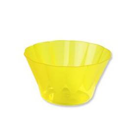 """Dessertschalen """"ROYAL"""" für Eis rund gelb 500ml (25 Stück)"""