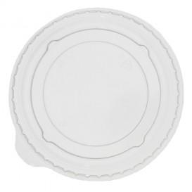 Deckel ohne Loch Flach für Becher PET 9Oz Klein, 364, 425 und 550ml Ø9,5cm (1000 Stück)