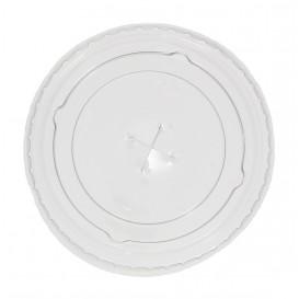 Deckel mit Kreuzschlitz Flach für Plastikbecher PP 300ml Ø7,4cm (125 Stück)