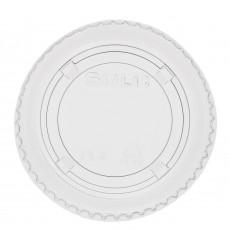 Deckel mit Kreuz Flach für Plastikbecher PP 300ml (125 Einh.)