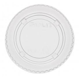 Deckel ohne Loch Flach für Plastikbecher PP 300ml Ø7,4cm (2.500 Stück)