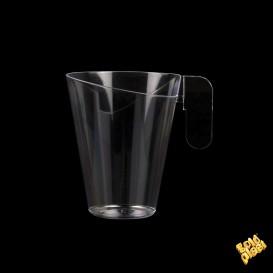 Plastiktasse Design Transparent 155ml (12 Stück)
