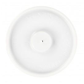 Deckel für Kartonbecher flach 4 Oz/120ml Ø6,2cm (100 Einh.)