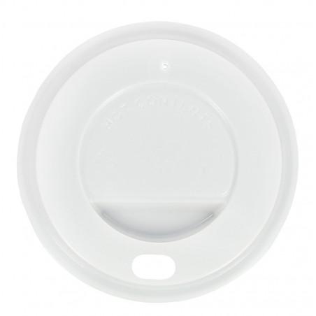 """Deckel für Becher """"Specialty"""" 12Oz/384ml weiß Ø8,5cm (100 Einh.)"""