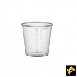 Plastikbecher weiß PP 100ml  (4.800 Stück)