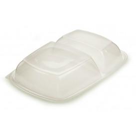 Deckel für Plastikbehälter schwarz 2G 23x16,5cm (75 Stück)