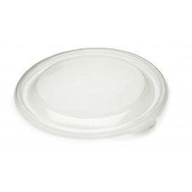 Plastikdeckel Transparent Ø19cm (50 Stück)