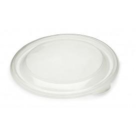 Plastikdeckel Transparent Ø23cm (25 Stück)