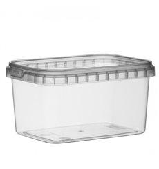 Verpackungsbecher Plastik Rechteckig 425ml 120x88mm (368 Einh.)